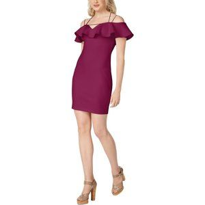 Guess Mara Bodycon Dress Off-The-Shoulder (size M)